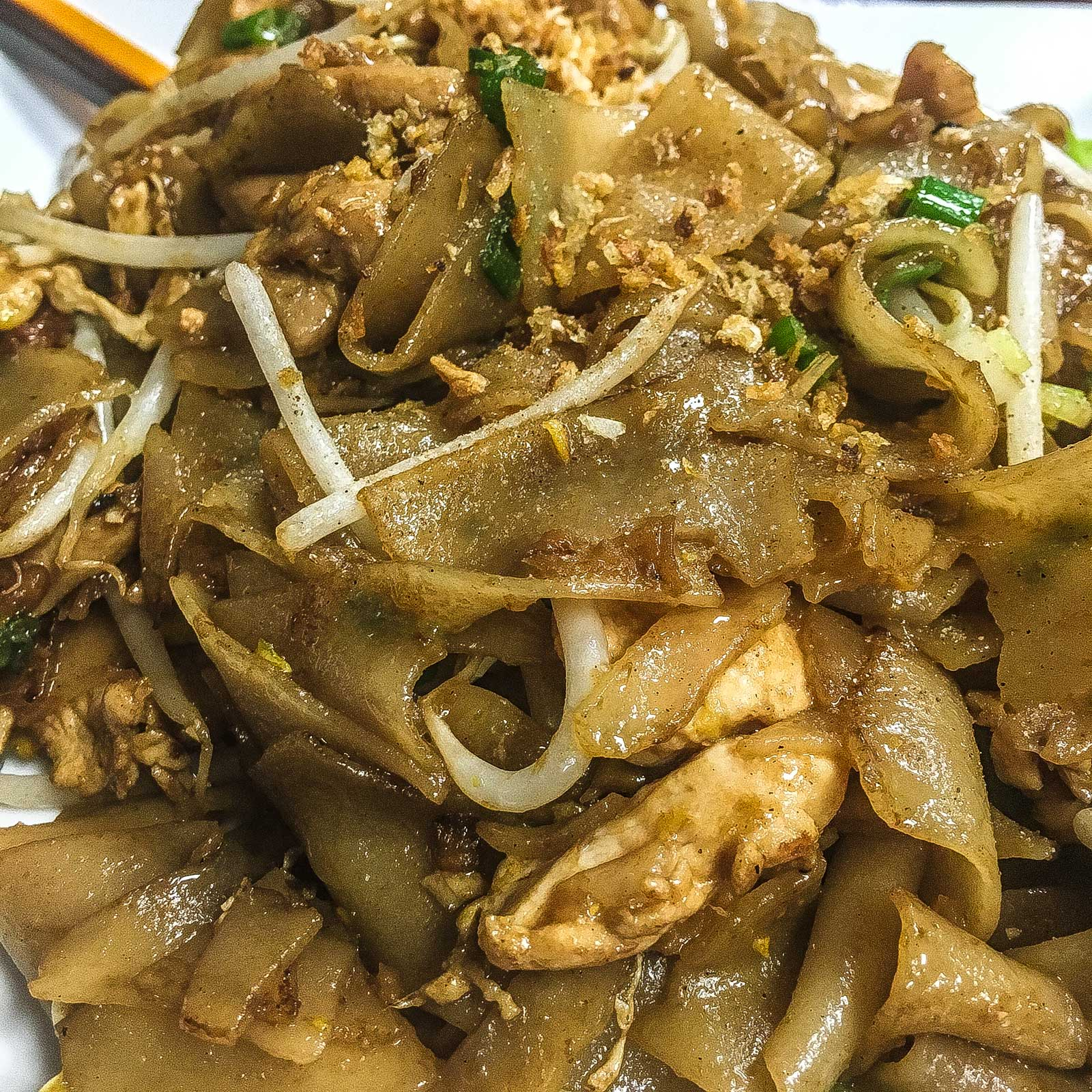 Chicken Noodles at Kruang Tedd