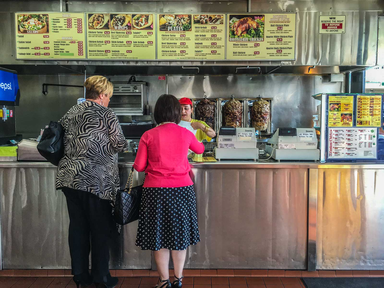 Inside Zankou Chicken