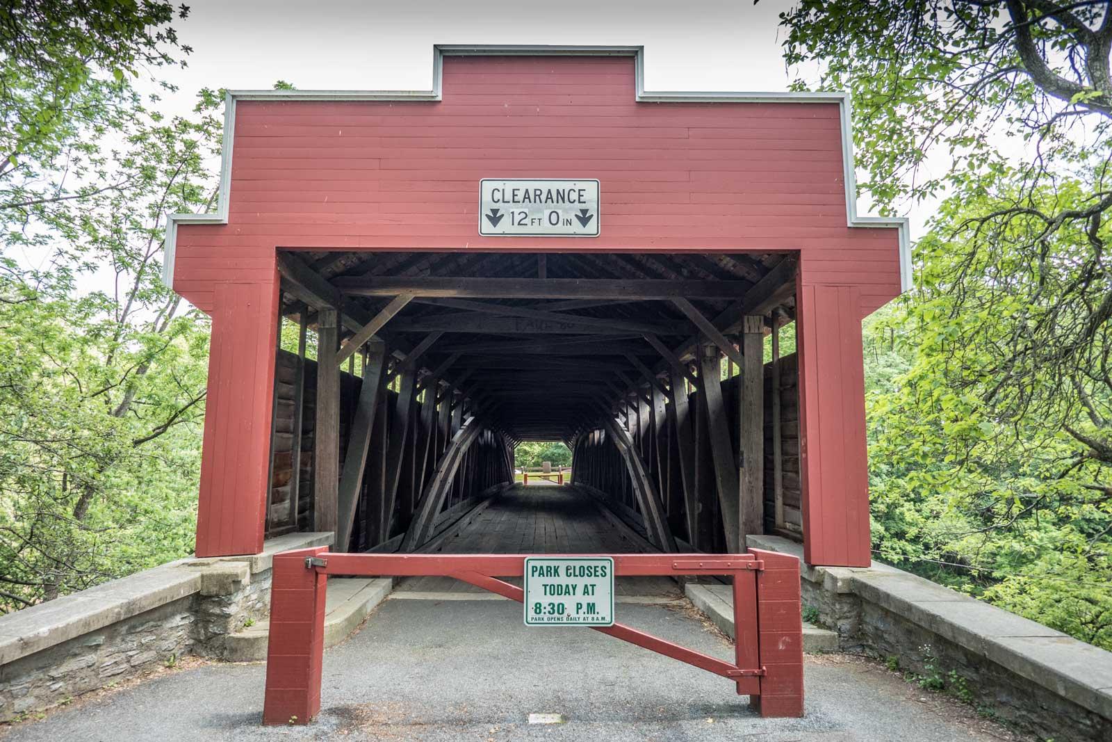 Wertz Red Covered Bridge Berks County Heritage Center