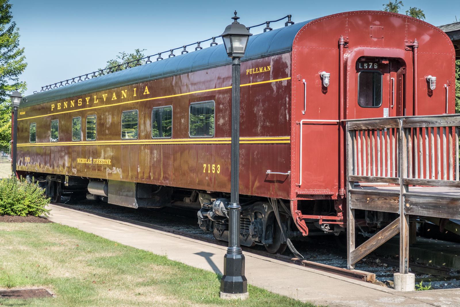 Pullman Railcar at Peter Herdic Transportation Museum