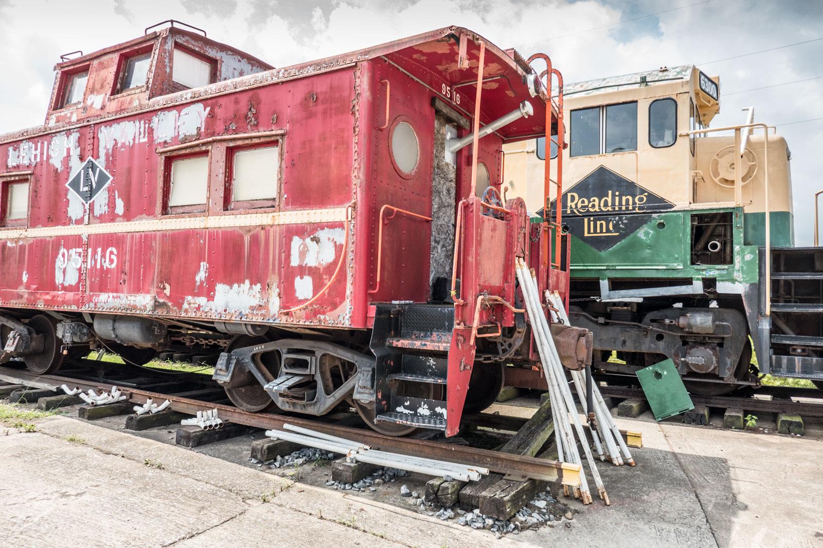 Reading Railroad Heritage Museum Hamburg Pennsylvania Berks County