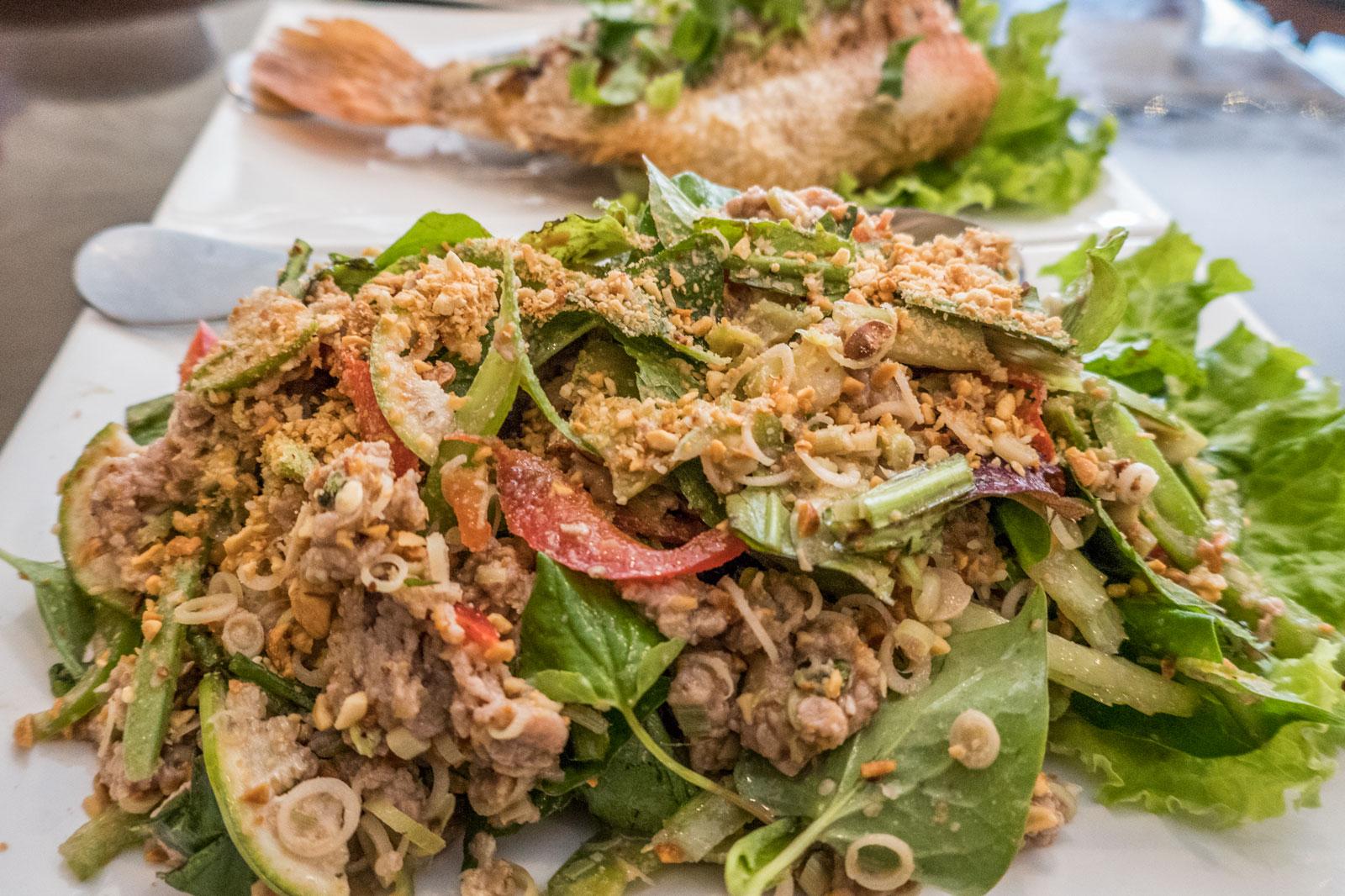 Lap Khmer Raw Beef Salad I Heart Cambodia Philadelphia