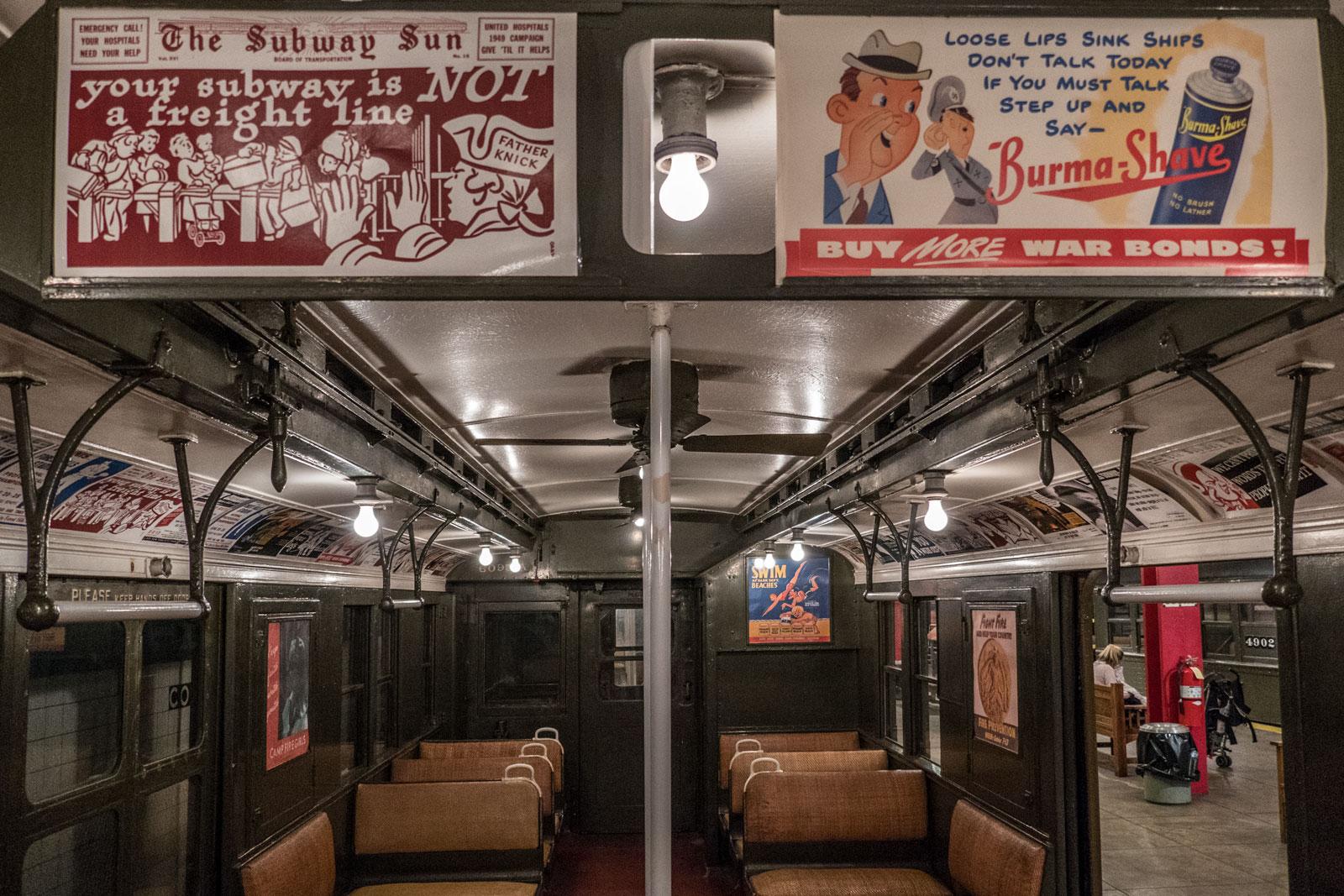 New York Transit Museum Brooklyn