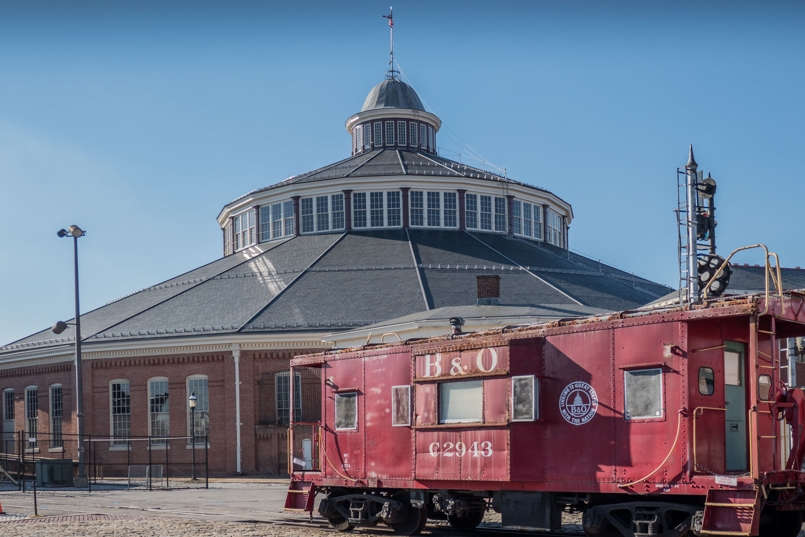 B & O Railroad Museum Baltimore Maryland