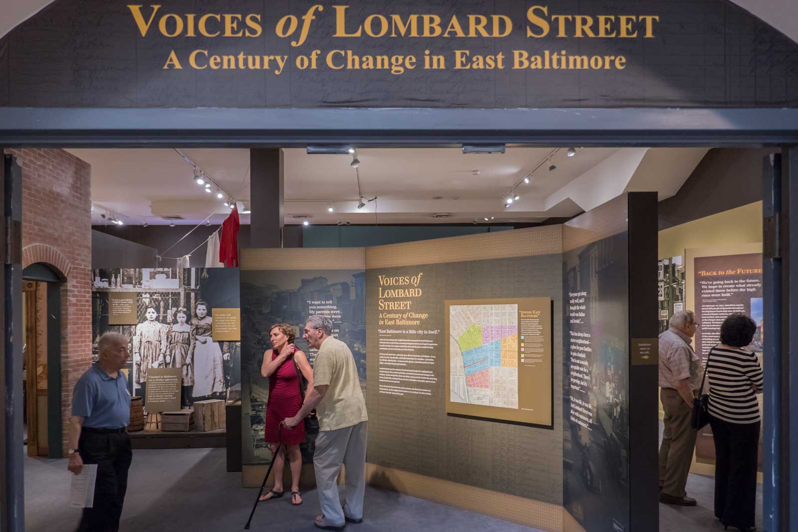 Voices of Lombard Street A Century of Change in East Baltimore Jewish Museum of Maryland