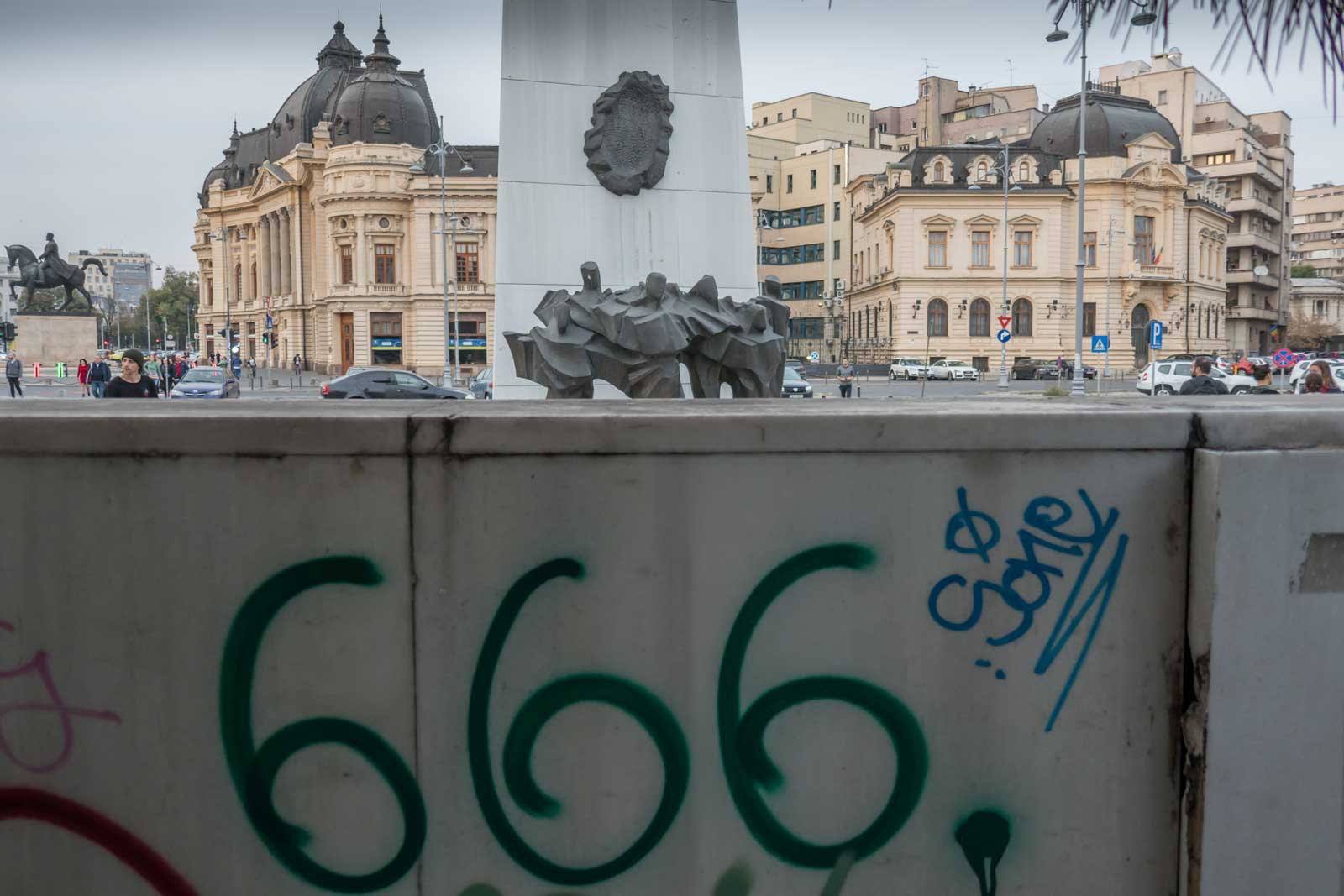 666 Revolution Square Bucharest Romania