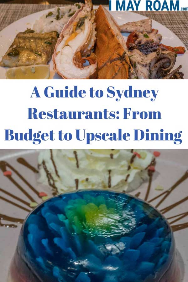 Pinterest : A Guide to Sydney Restaurants