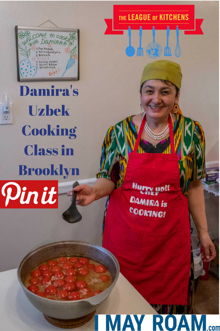 Pinterest Damira's Uzbek Cooking Class in Brooklyn