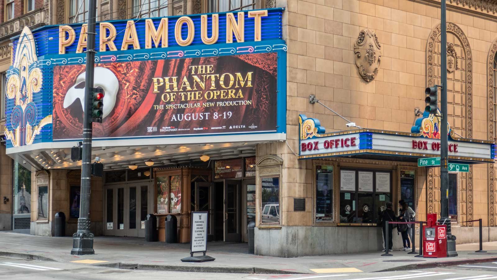 The Paramount Theatre Seattle