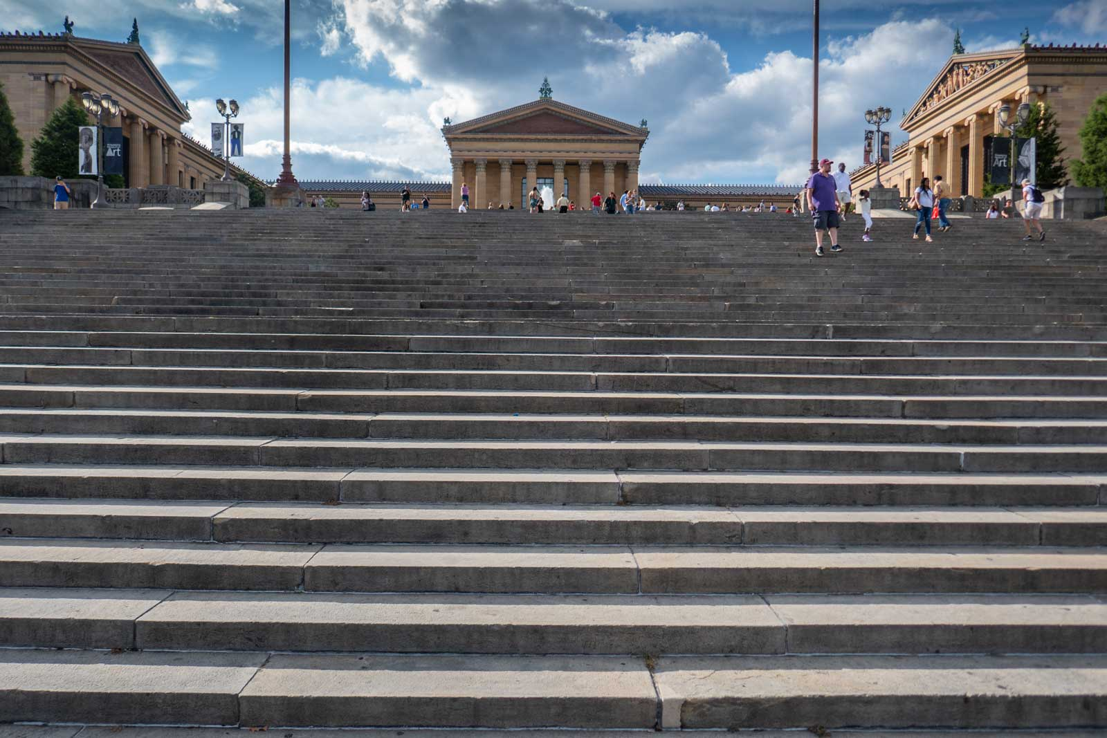 Philadelphia Museum of Art steps from Rocky