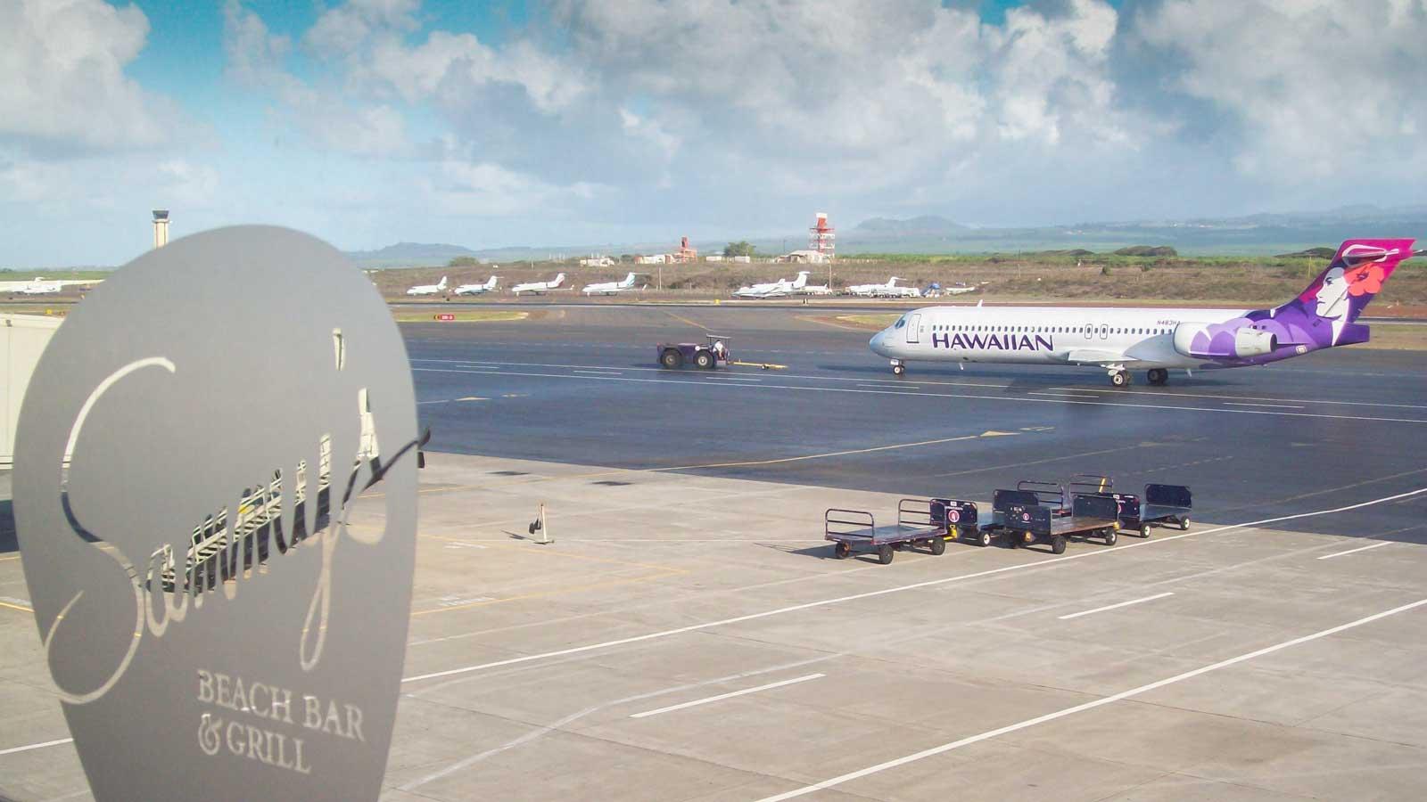 Sammy's Maui Airport Hawaii