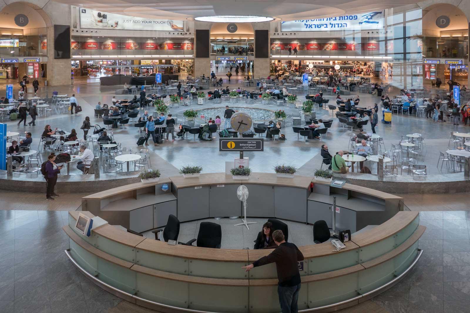Tel Aviv Airport Israel