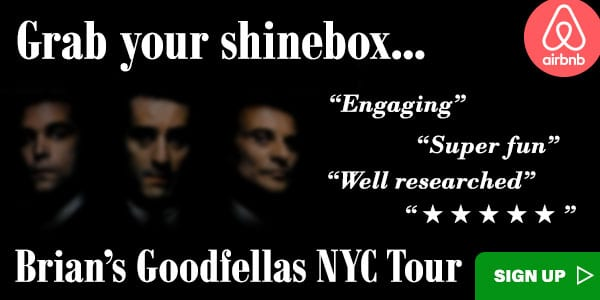 Goodfellas NYC Walking Tour