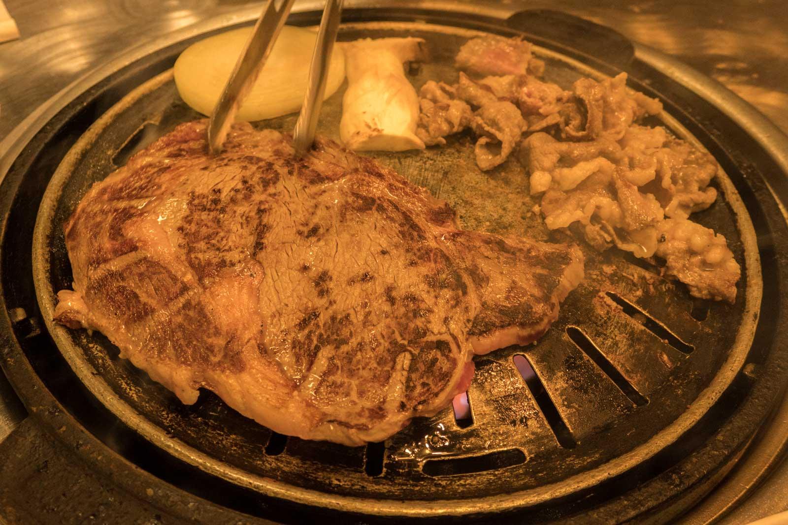 steak in Seoul