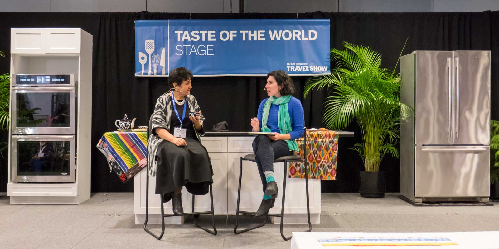 Damira Sonya League of Kitchens 2018 New York Times Travel Show