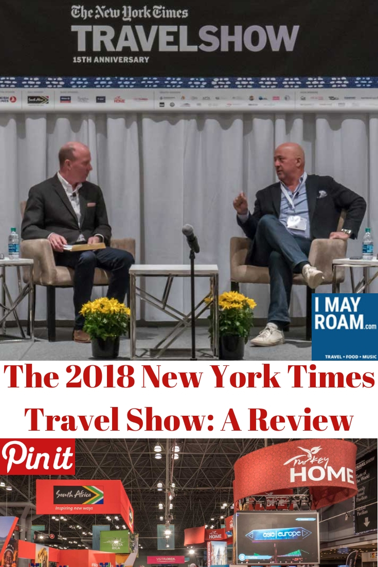 Pinterest 2018 New York Times Travel Show Review