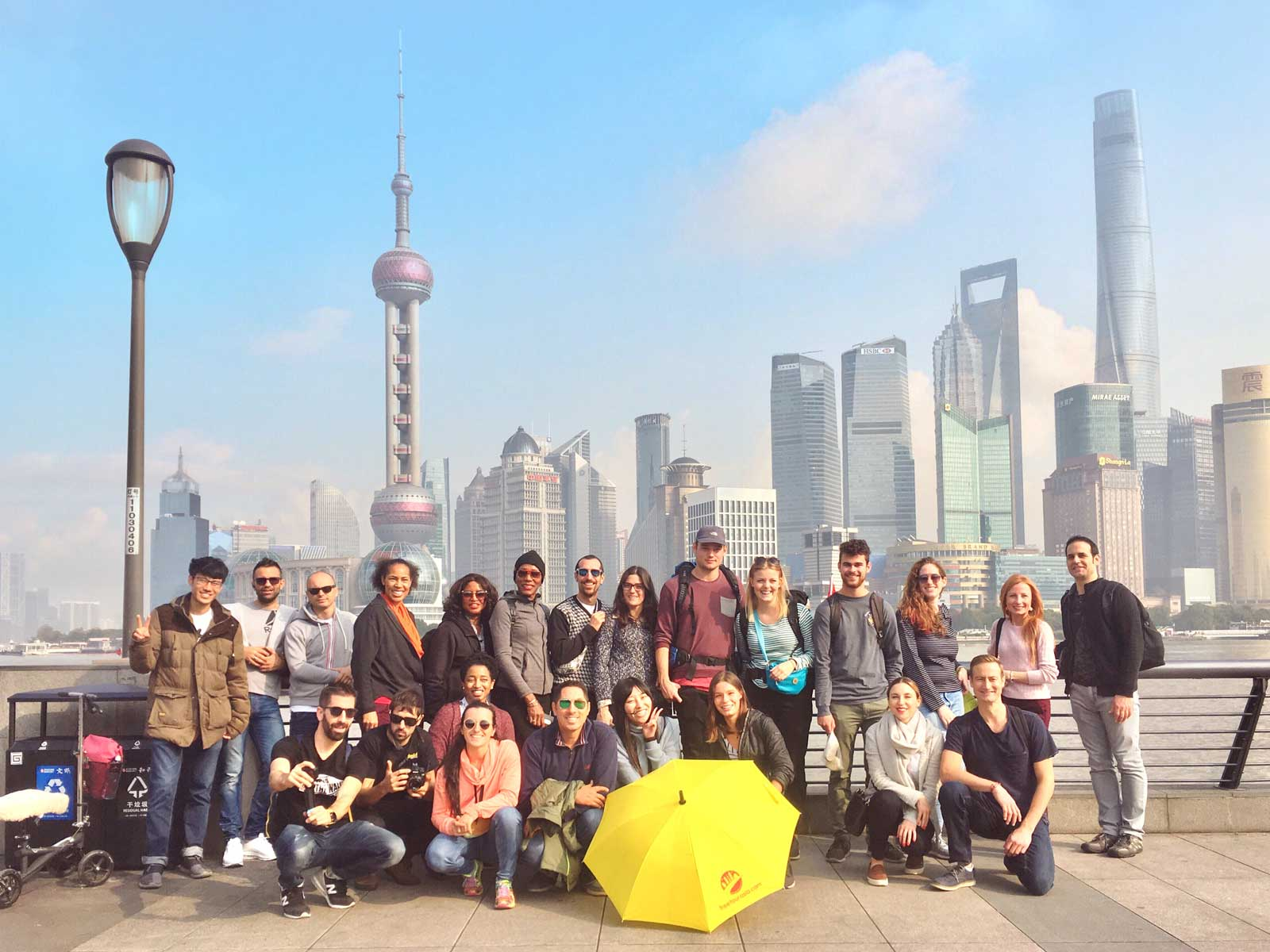 Free Tour Asia Shanghai on the Bund