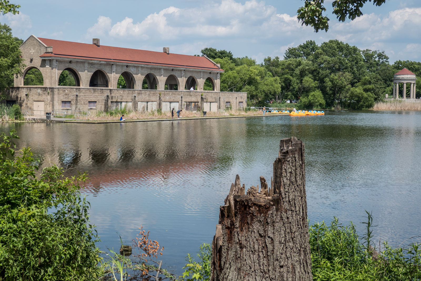 FDR Park Meadow Lake off SEPTA Broad Street Line in Philadelphia