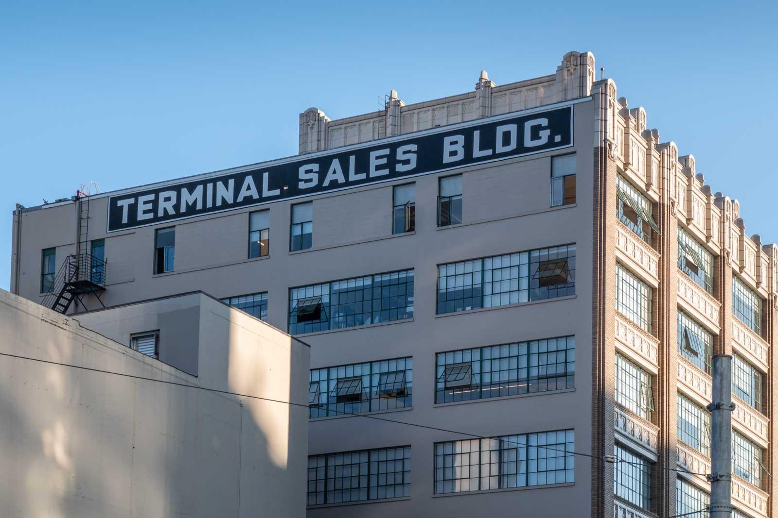 Terminal Sales Building Seattle