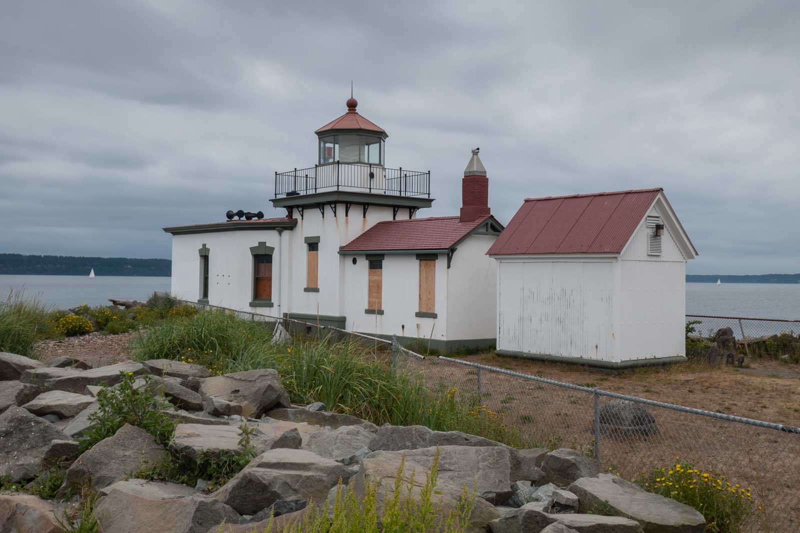 West Point Lighthouse Discovery Park Seattle