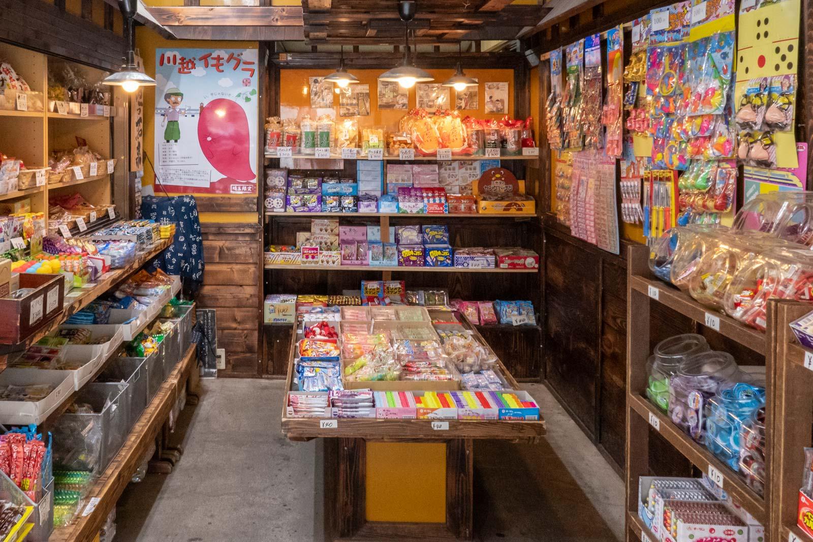 Yoshiokaya Candy Alley Kawagoe
