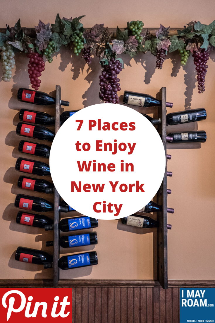 Pinterest 7 Places to Enjoy Wine in New York City