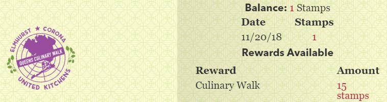 Culinary Backstreets passport