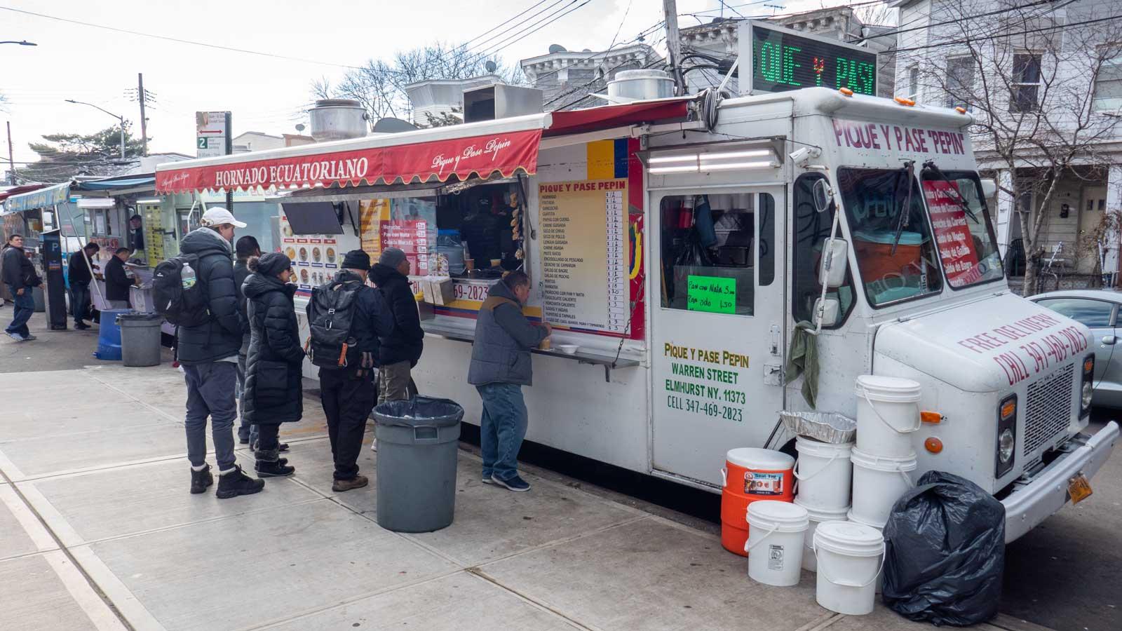 food trucks in Corona Queens