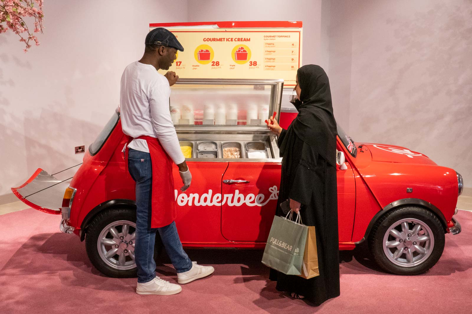 Wonderbee at The Galleria Abu Dhabi