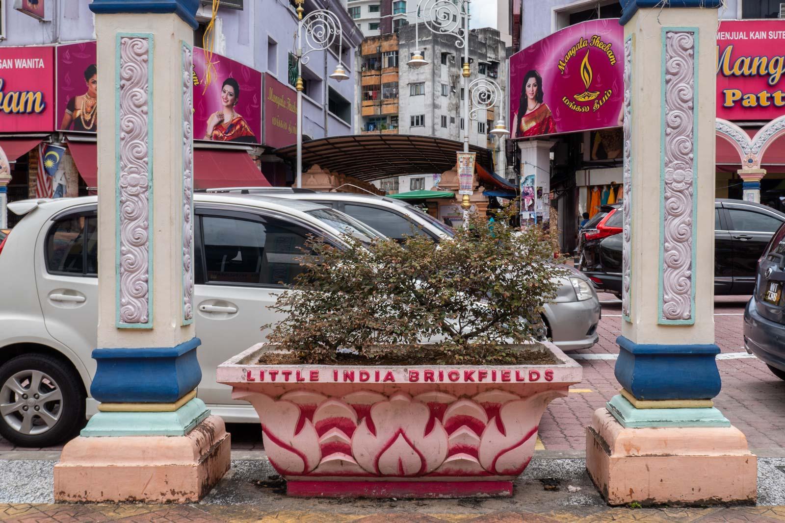 Brickfields Little India Kuala Lumpur Malaysia