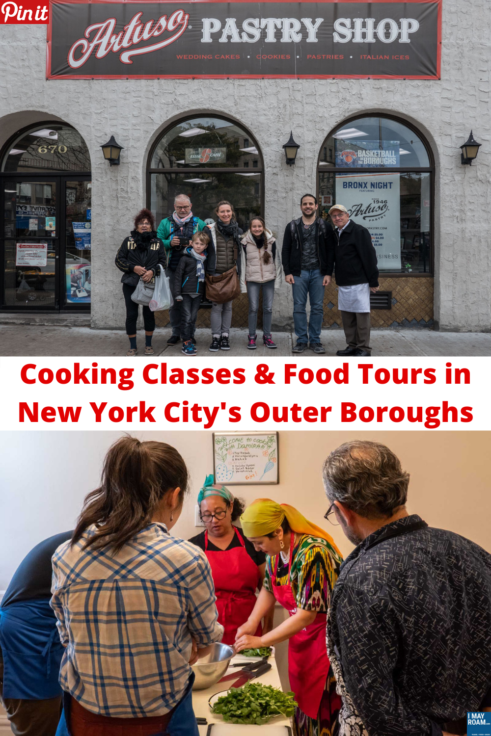Pinterest Cooking Classes & Food Tours in New York City's Outer Boroughs
