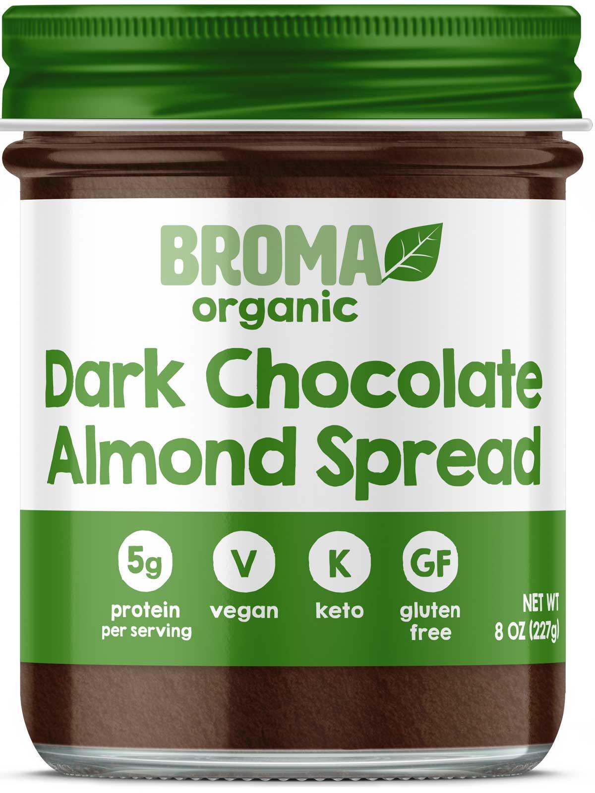 Broma Dark Chocolate Almond Spread