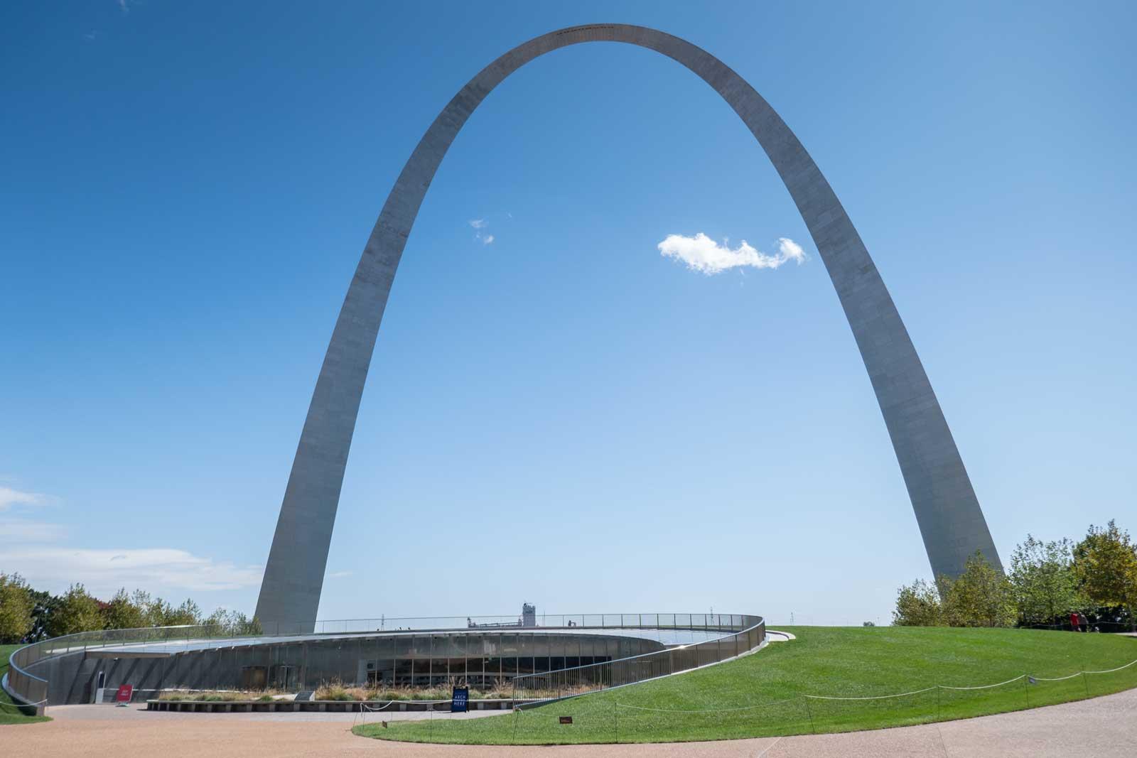 Gateway Arch Saint Louis Midwest