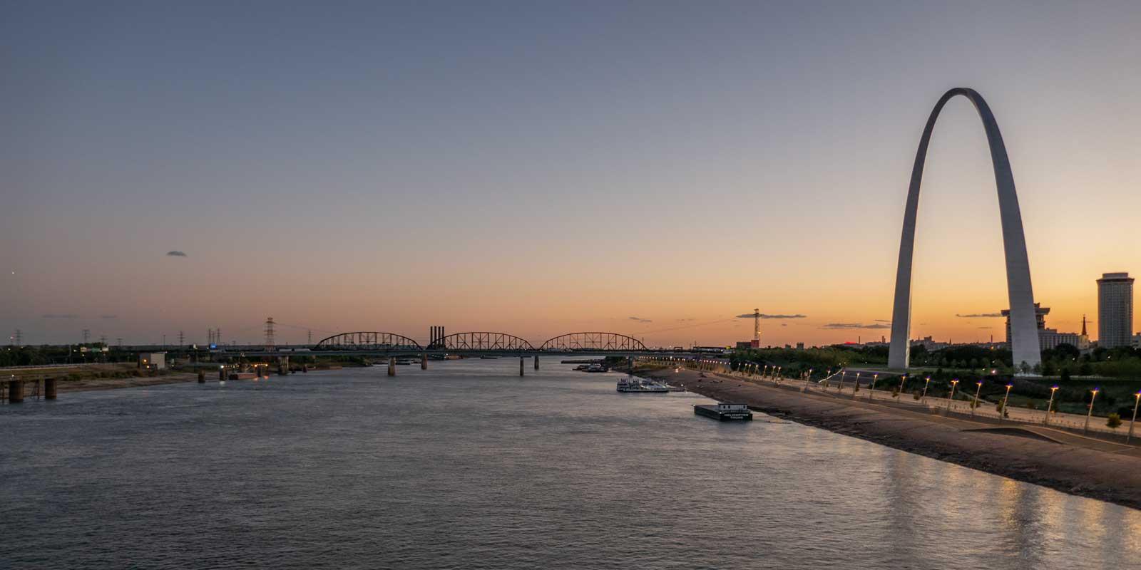 Mississippi River Saint Louis Midwest