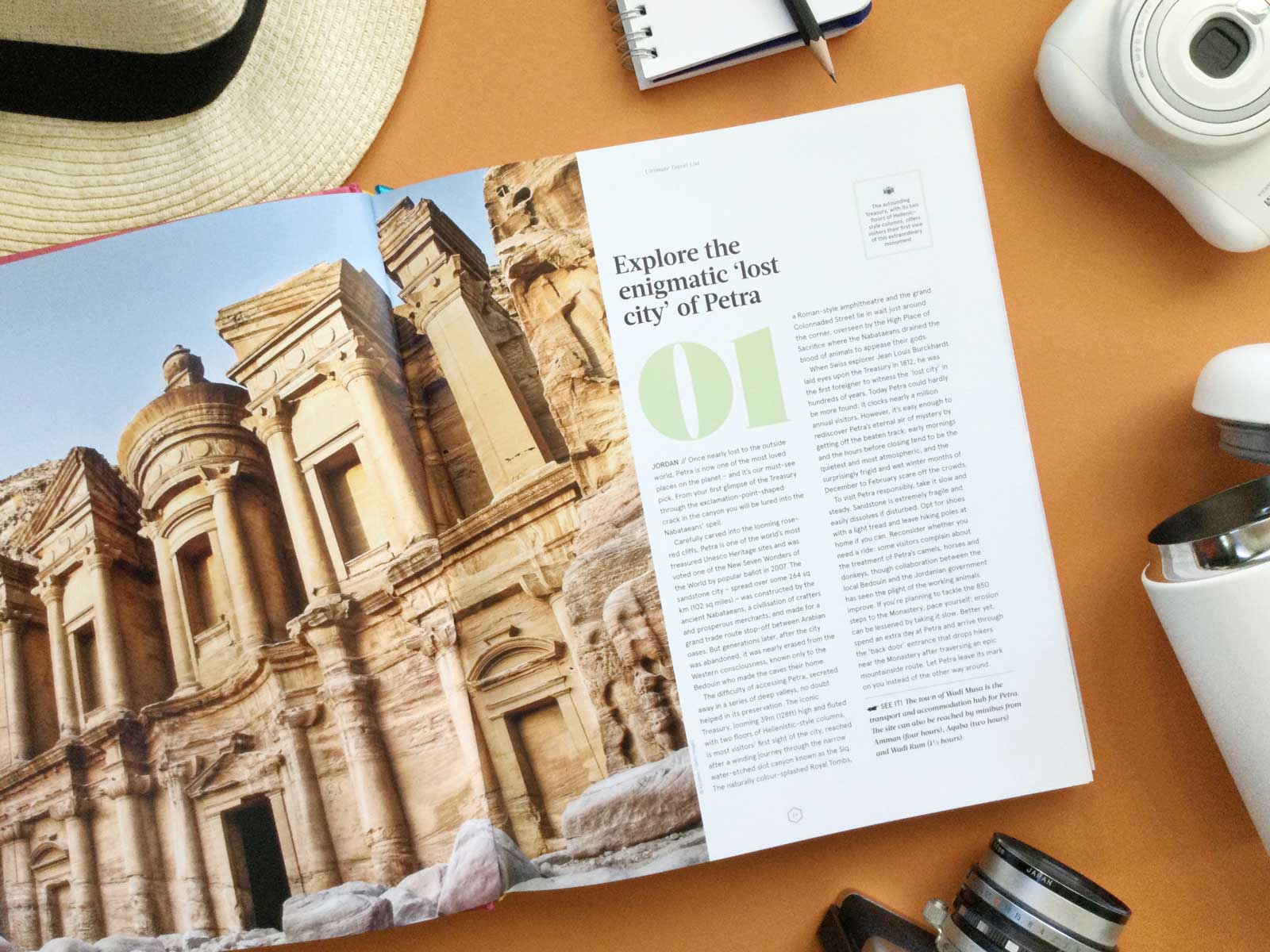 Lonely Planet Ultimate Travel List Petra