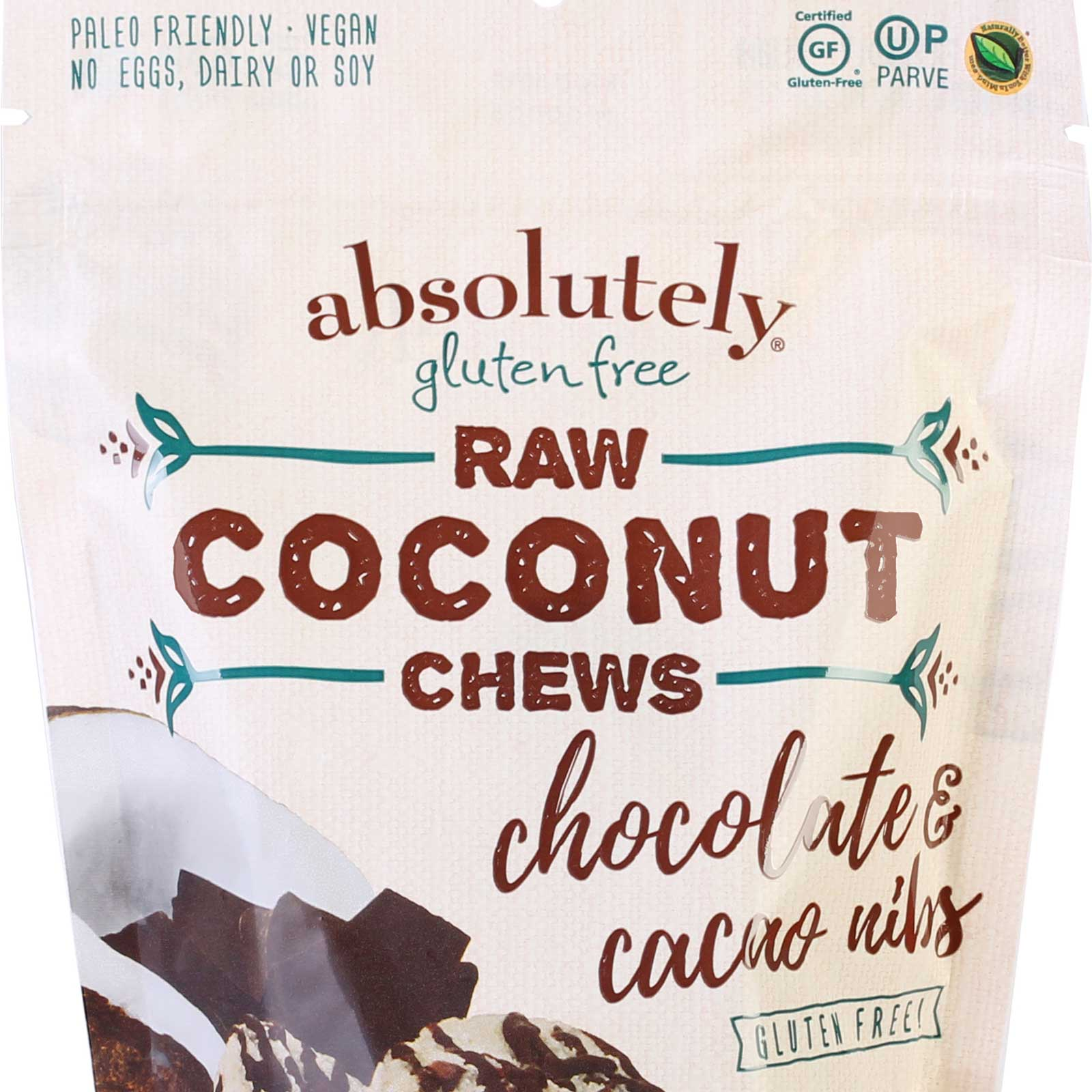 raw coconut chews chocolate