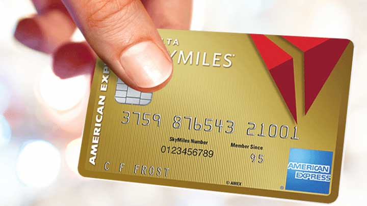 travel credit cards Delta SkyMiles AMEX Gold