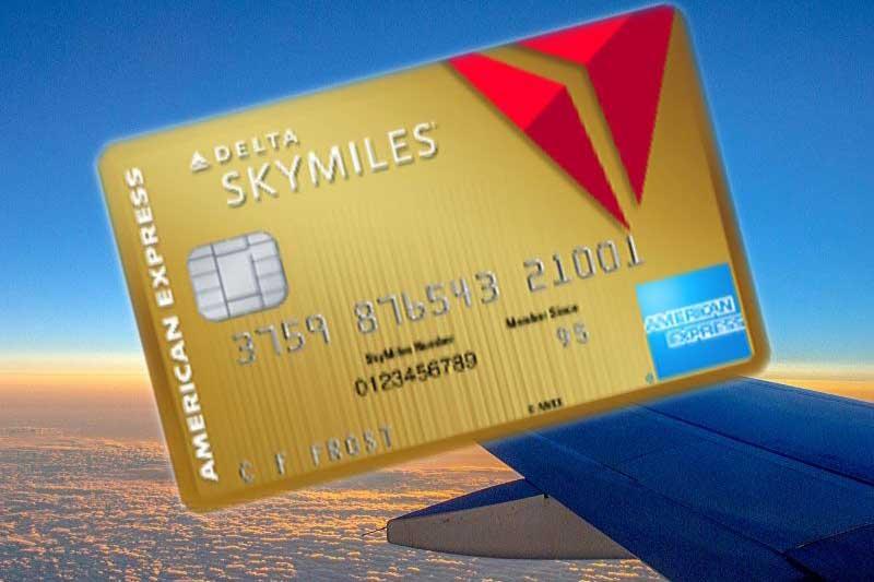 Delta SkyMiles Gold AMEX credit card