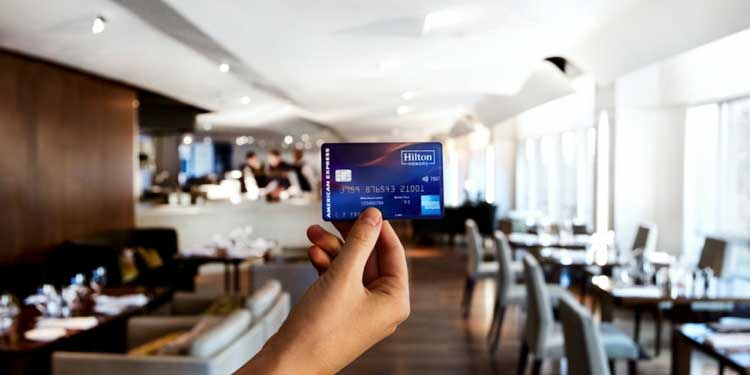 travel credit cards Hilton Honors American Express