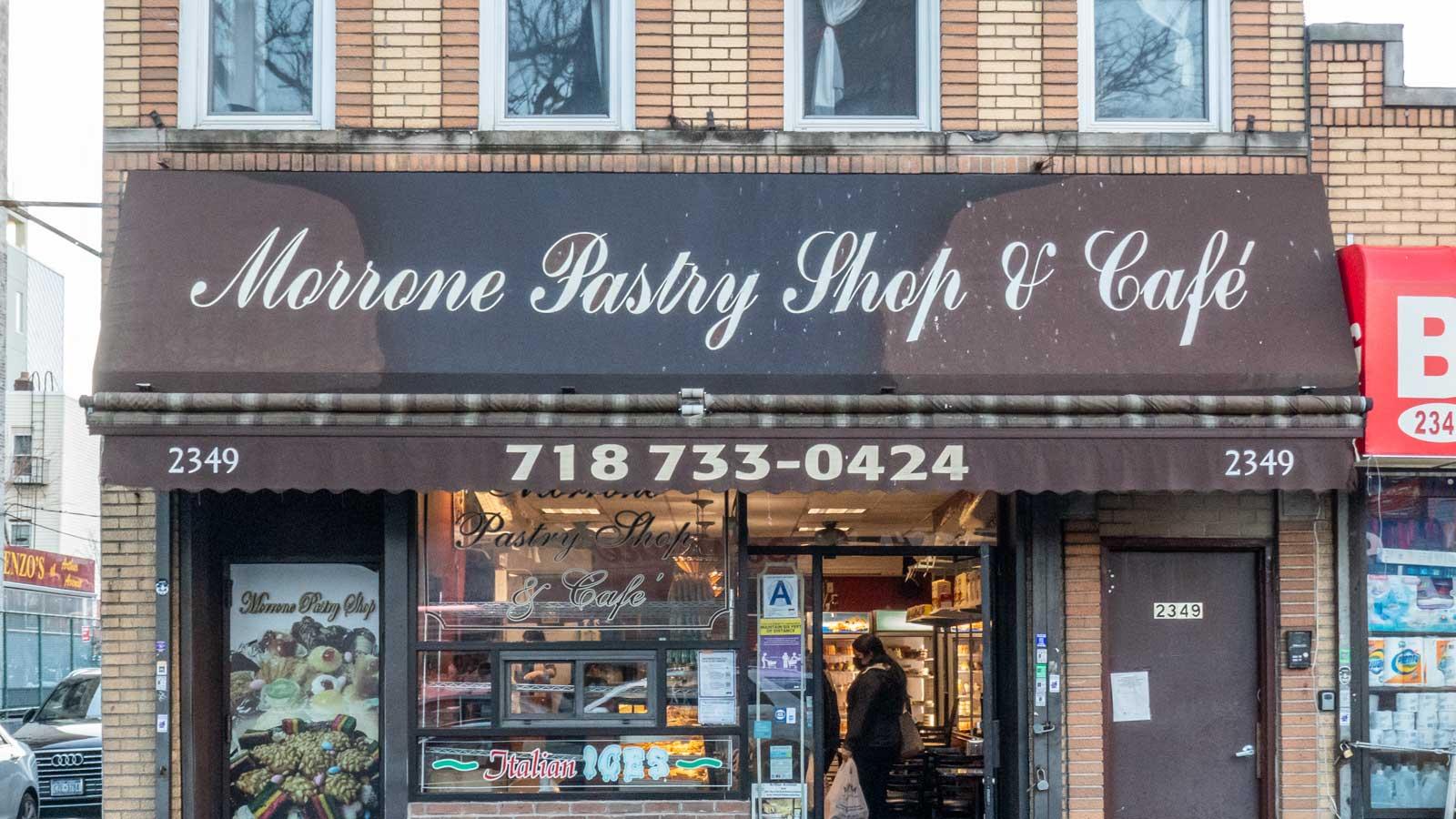 Morrone Pastry Shop Arthur Ave Bronx Little Italy