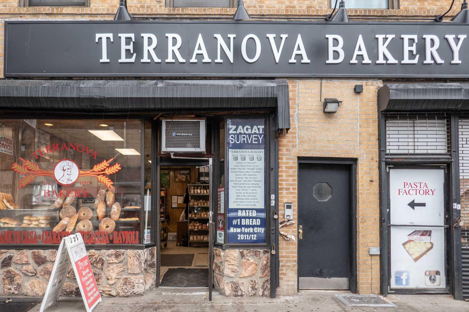 Terranova Bakery Bronx Little Italy