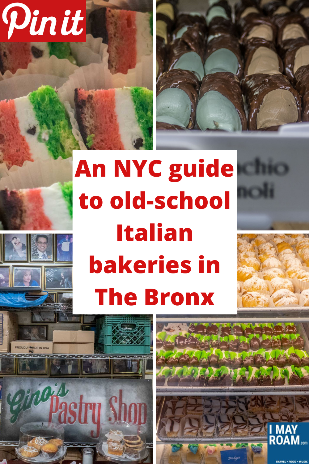 Pinterest An NYC guide to old-school Italian bakeries in The Bronx