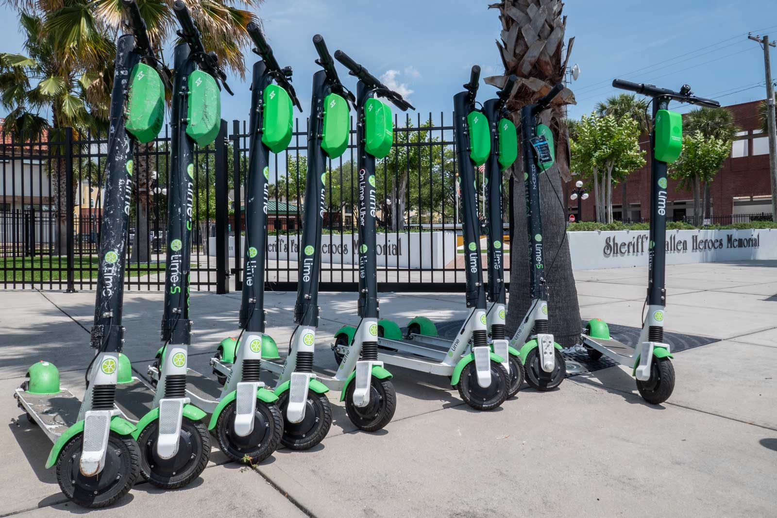 Lime Scooters Tampa Central Florida