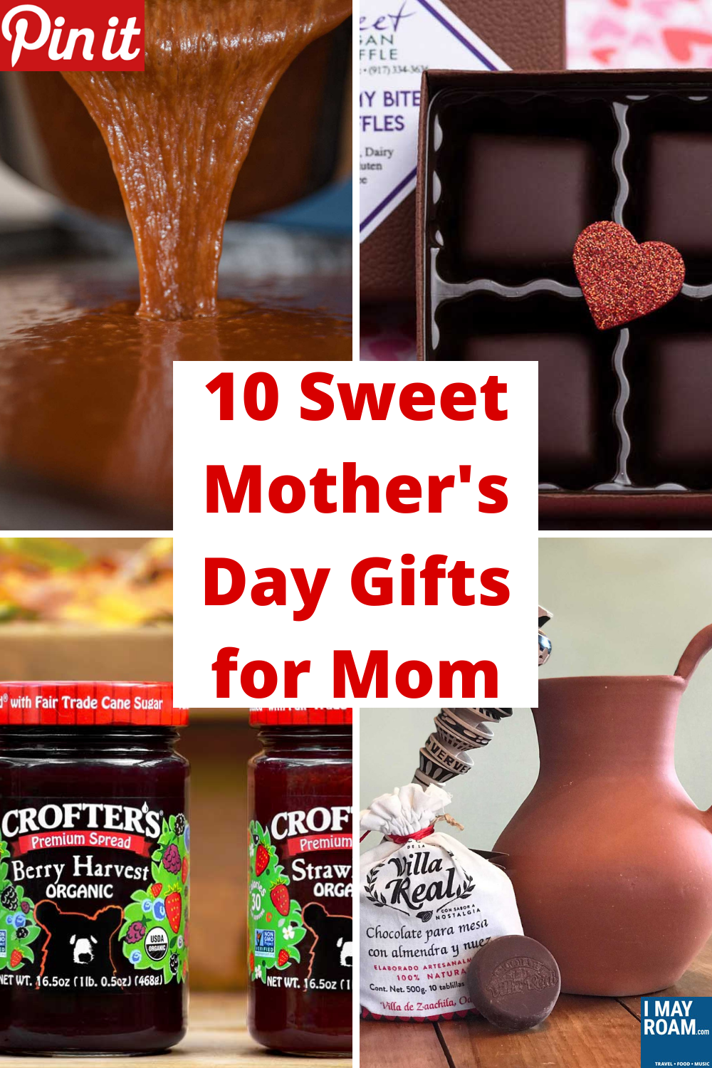 Pinterest 10 Sweet Mother's Day Gifts for Mom