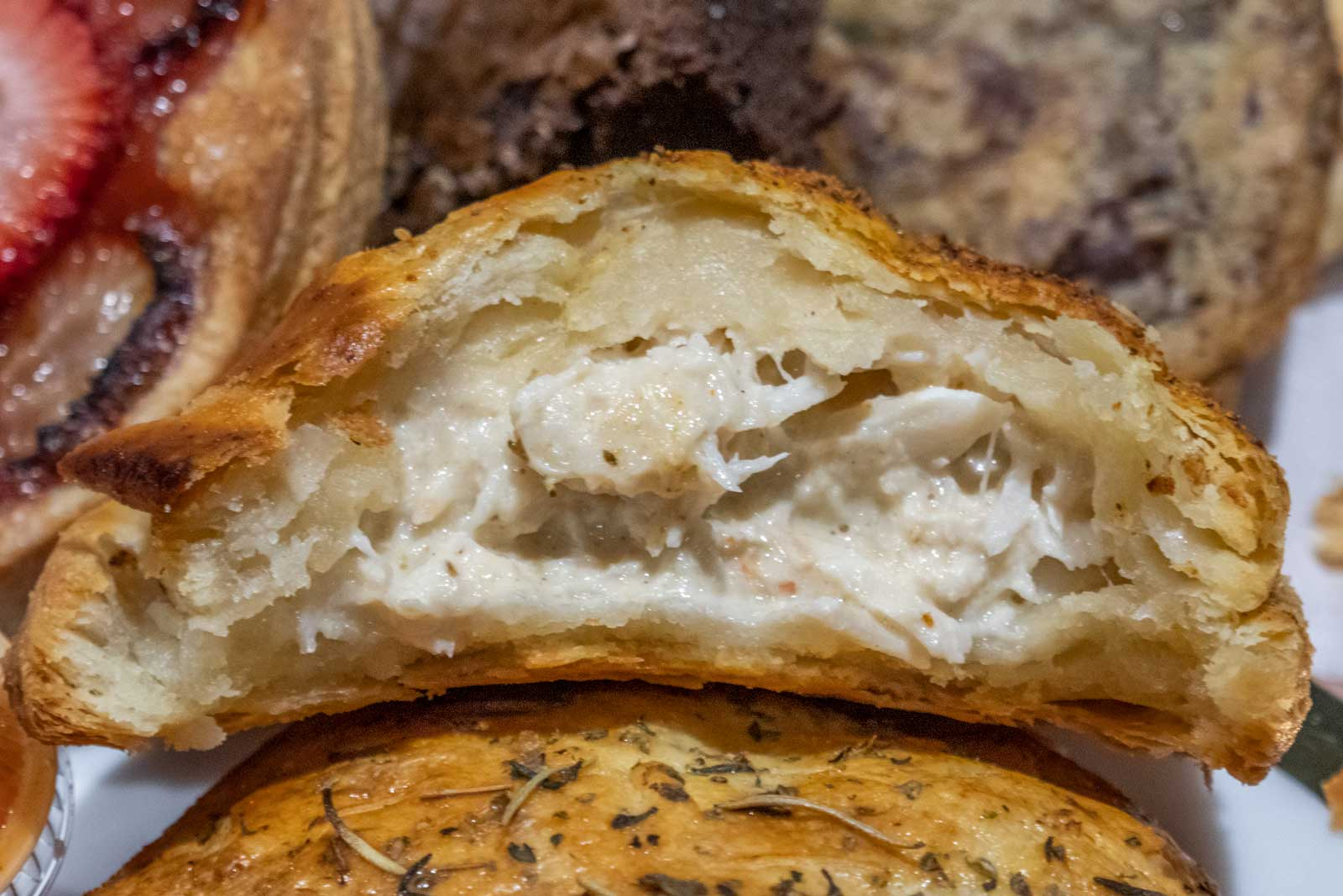 crab pie from Crust by Mack