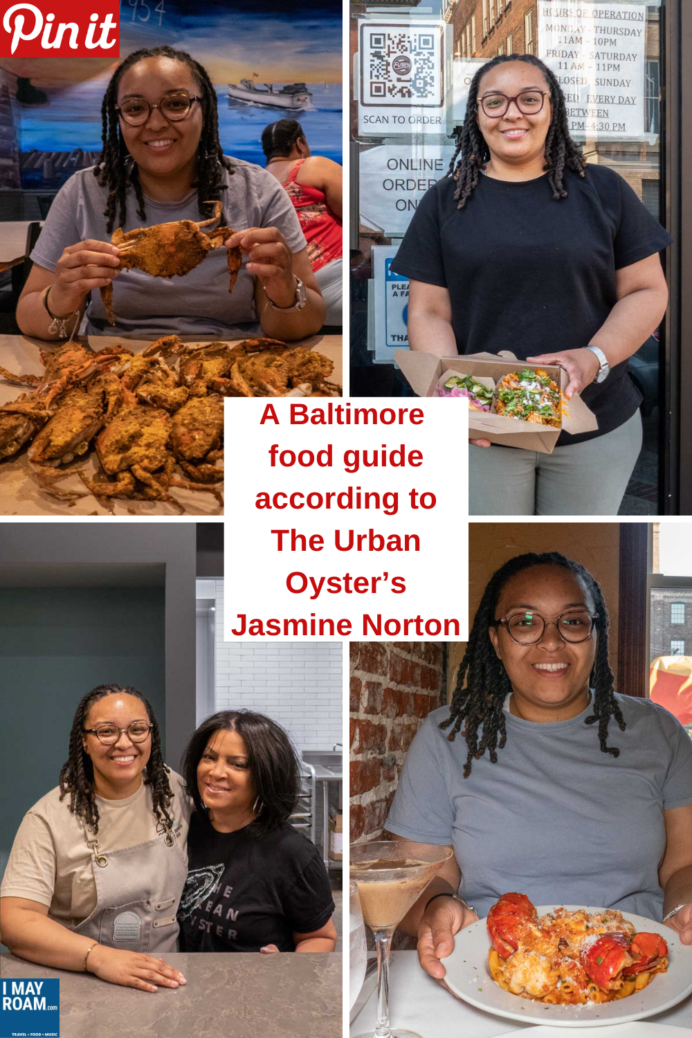 Pinterest A Baltimore food guide according to The Urban Oyster's Jasmine Norton